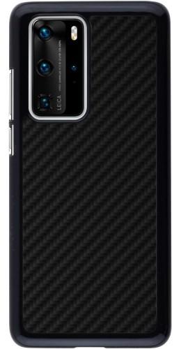 Coque Huawei P40 Pro - Carbon Basic