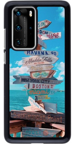 Coque Huawei P40 Pro - Cool Cities Directions