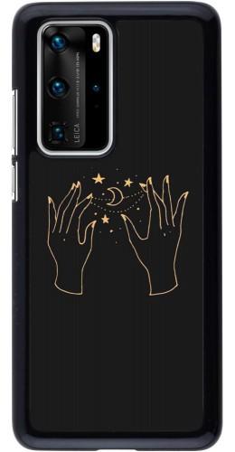 Coque Huawei P40 Pro - Grey magic hands