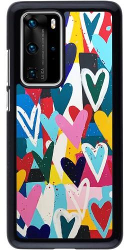 Coque Huawei P40 Pro - Joyful Hearts