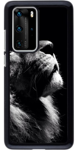Coque Huawei P40 Pro - Lion looking up