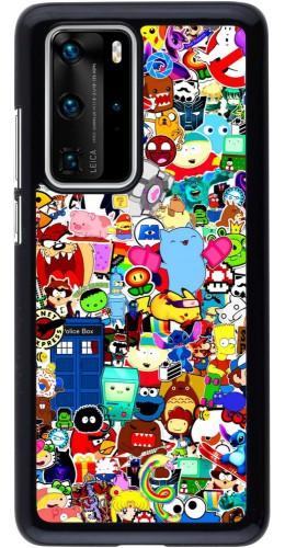 Coque Huawei P40 Pro - Mixed cartoons