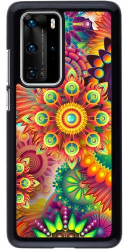 Coque Huawei P40 Pro - Multicolor aztec