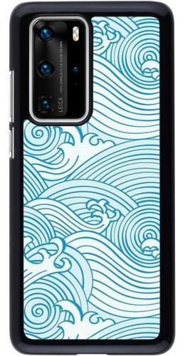 Coque Huawei P40 Pro - Ocean Waves