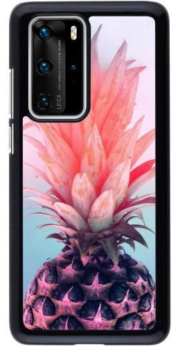 Coque Huawei P40 Pro - Purple Pink Pineapple