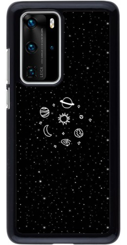 Coque Huawei P40 Pro - Space Doodle