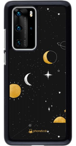 Coque Huawei P40 Pro - Space Vector