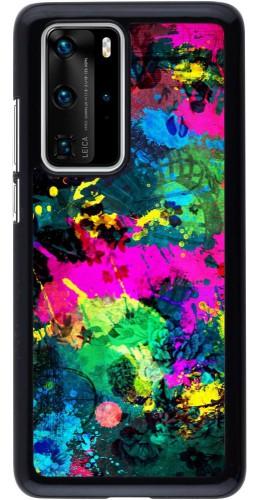 Coque Huawei P40 Pro - splash paint