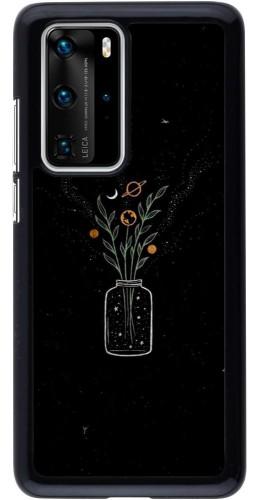 Coque Huawei P40 Pro - Vase black