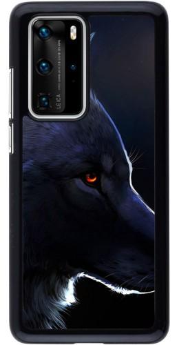 Coque Huawei P40 Pro - Wolf Shape