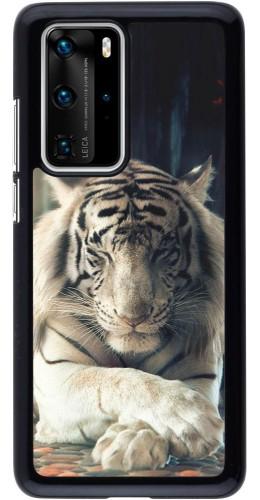 Coque Huawei P40 Pro - Zen Tiger
