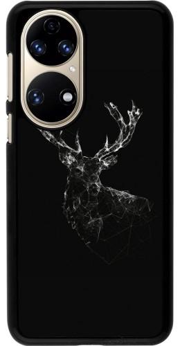 Coque Huawei P50 - Abstract deer