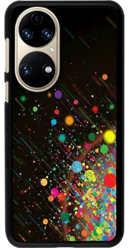 Coque Huawei P50 - Abstract Bubble Lines