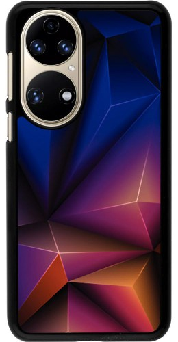 Coque Huawei P50 - Abstract Triangles