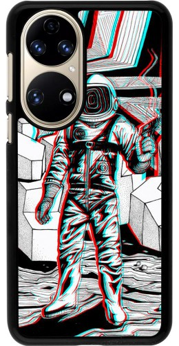 Coque Huawei P50 - Anaglyph Astronaut