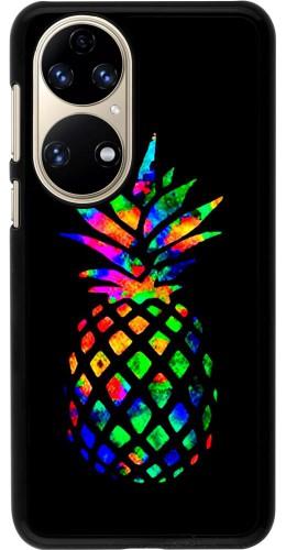 Coque Huawei P50 - Ananas Multi-colors