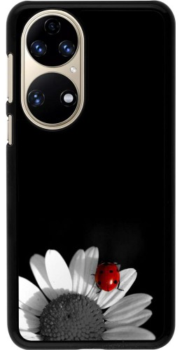 Coque Huawei P50 - Black and white Cox
