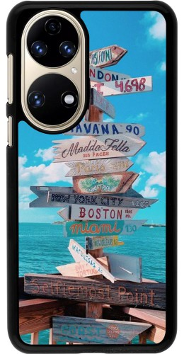 Coque Huawei P50 - Cool Cities Directions