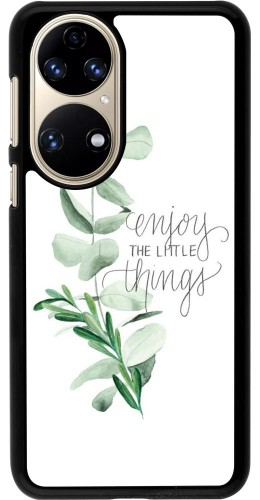 Coque Huawei P50 - Enjoy the little things