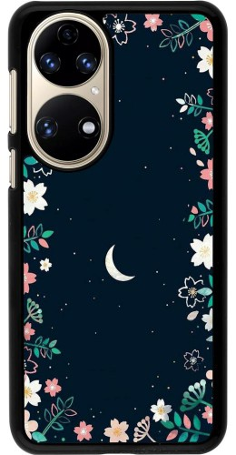 Coque Huawei P50 - Flowers space