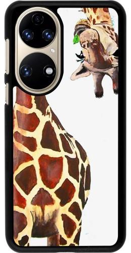 Coque Huawei P50 - Giraffe Fit