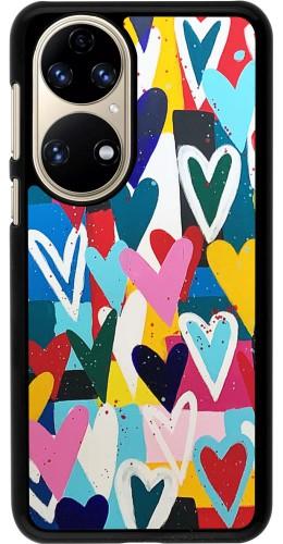 Coque Huawei P50 - Joyful Hearts