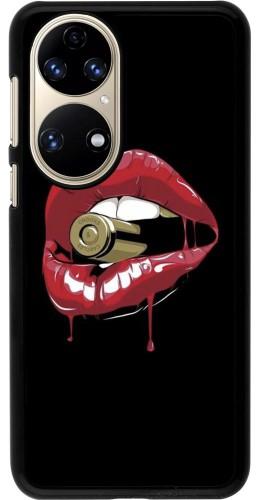 Coque Huawei P50 - Lips bullet