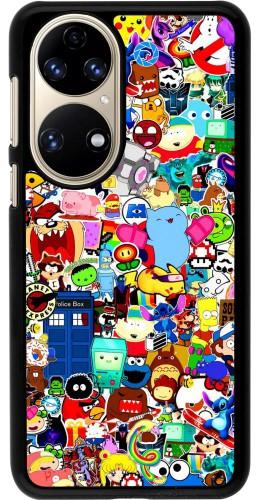 Coque Huawei P50 - Mixed cartoons