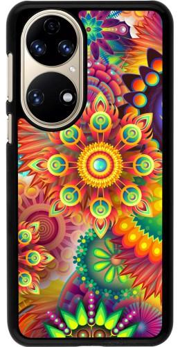 Coque Huawei P50 - Multicolor aztec
