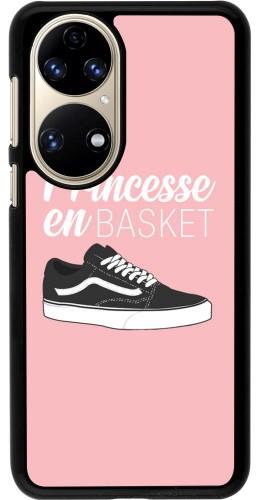 Coque Huawei P50 - princesse en basket