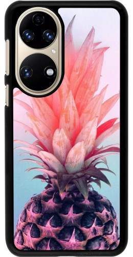 Coque Huawei P50 - Purple Pink Pineapple