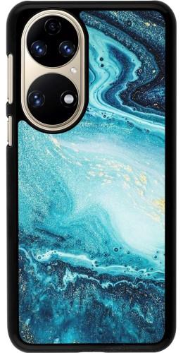 Coque Huawei P50 - Sea Foam Blue