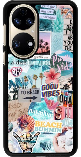 Coque Huawei P50 - Summer 20 collage