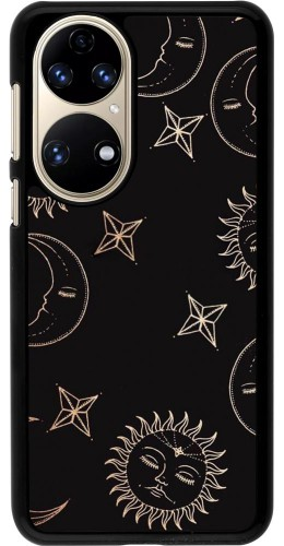 Coque Huawei P50 - Suns and Moons