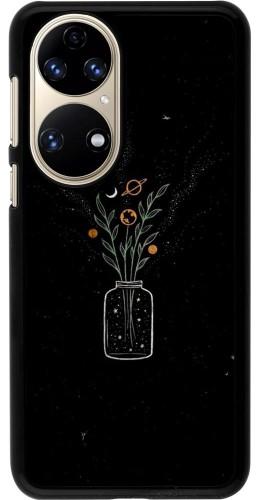 Coque Huawei P50 - Vase black