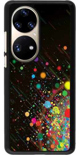 Coque Huawei P50 Pro - Abstract Bubble Lines