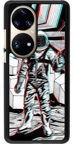 Coque Huawei P50 Pro - Anaglyph Astronaut