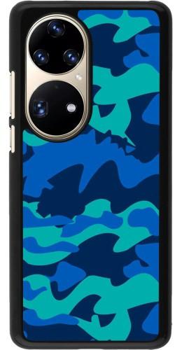 Coque Huawei P50 Pro - Camo Blue