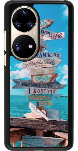 Coque Huawei P50 Pro - Cool Cities Directions