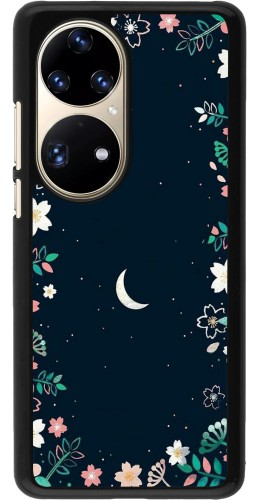 Coque Huawei P50 Pro - Flowers space