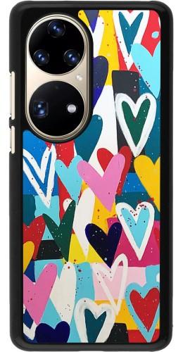 Coque Huawei P50 Pro - Joyful Hearts