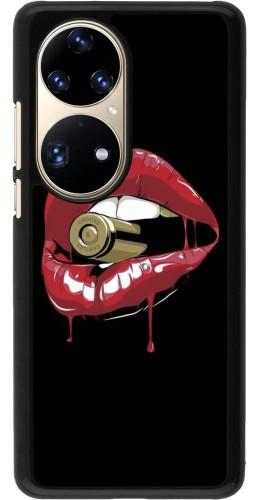 Coque Huawei P50 Pro - Lips bullet