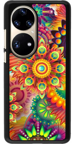 Coque Huawei P50 Pro - Multicolor aztec