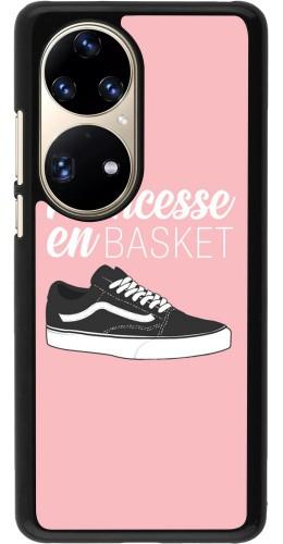 Coque Huawei P50 Pro - princesse en basket