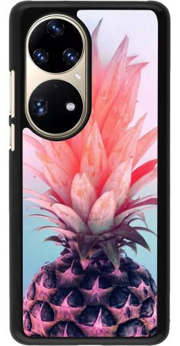 Coque Huawei P50 Pro - Purple Pink Pineapple