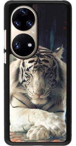 Coque Huawei P50 Pro - Zen Tiger