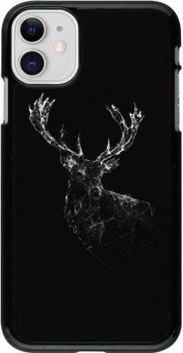 Coque iPhone 11 - Abstract deer