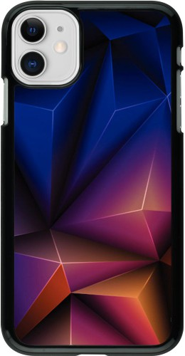 Coque iPhone 11 - Abstract Triangles