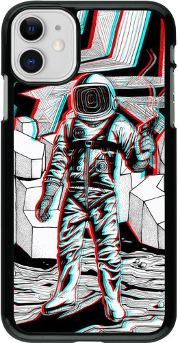 Coque iPhone 11 - Anaglyph Astronaut