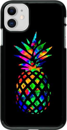 Coque iPhone 11 - Ananas Multi-colors